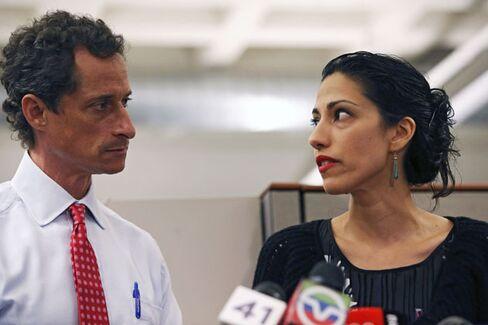 Huma & Anthony Aren't Bill & Hillary