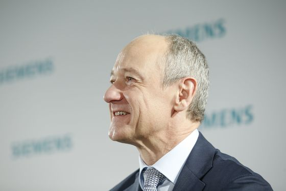 Busch to Take Over Early as Siemens CEO in October