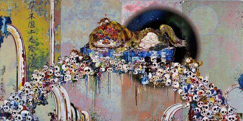 Murakami painting