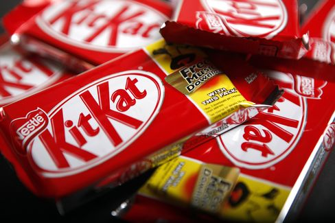 Nestle Sees Sales Growth at Top End of Forecast
