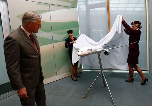 Deutsche Lufthansa AG Chief Executive Officer Christoph Franz