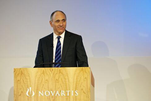 Novartis CEO Joe Jimenez