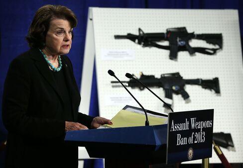 Democratic Senator Dianne Feinstein of California