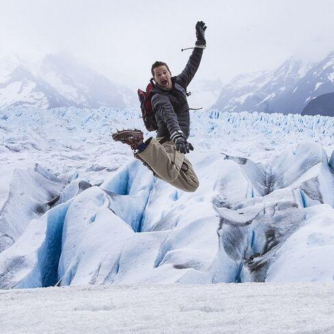 """Glacier time.....makes you wanna jump, jump ... #MCHammermeetKrisKross #iceicebaby"""