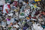 Dumped recycling including plastic packaging from around Europe in Adana province, Turkey in 2020.