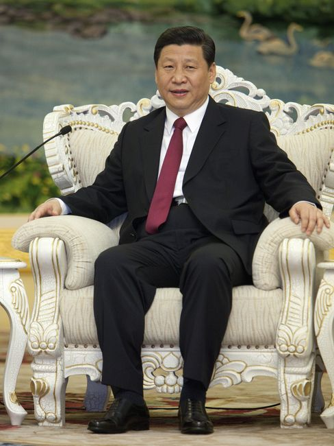 China's Vice President Xi Jinping