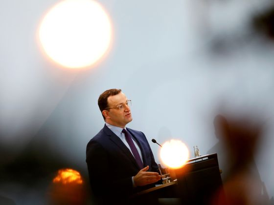 Merkel Supplanted by Spahn as Germany's Most Popular Politician