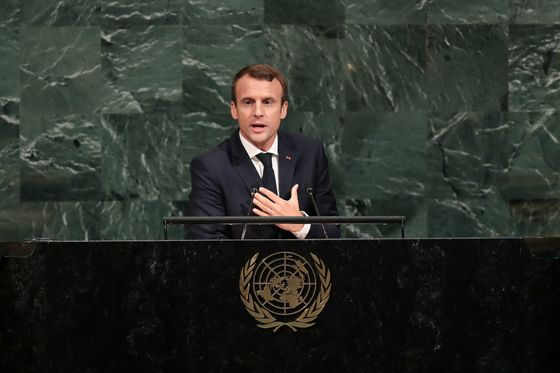 Macron Returns to UN With Ambitions Curtailed