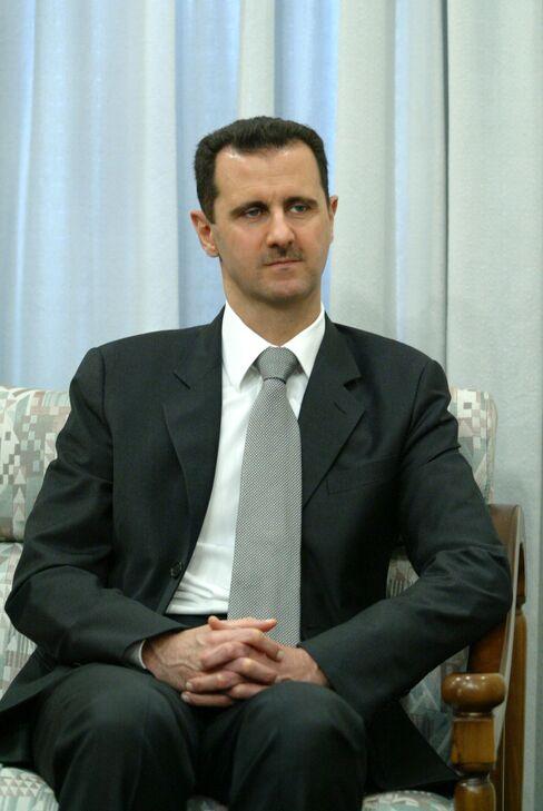Persuading Syrian President Bashar al-Assad