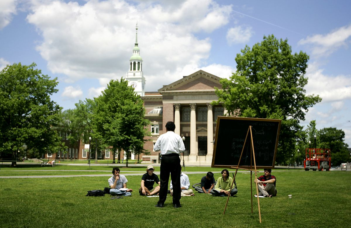 Dartmouth Joins Five Endowments Posting a Slide in Performance