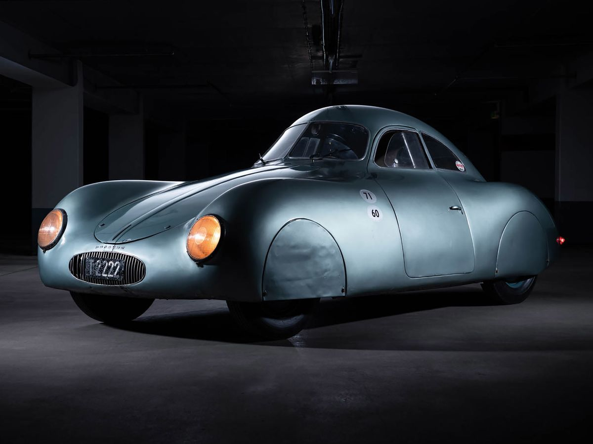 Porsche's Type 64 Nazi Car Fails to Sell in Auction Blunder