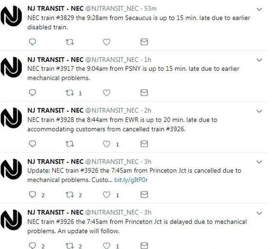 NJ Transit Audit Report: Find Money. Cut Fat. Post Cooler Tweets