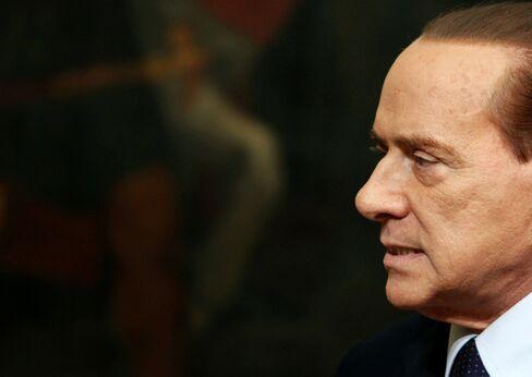 Former Premier Silvio Berlusconi