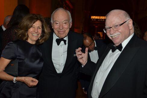 Judy and Leonard Lauder with Michael Steinhardt
