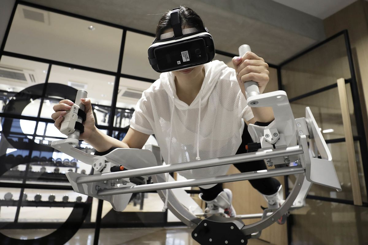 Virtual Reality Hits the Gym