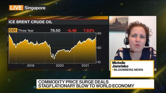 Commodity Price Gain Deals Stagflation Blow to World Economy