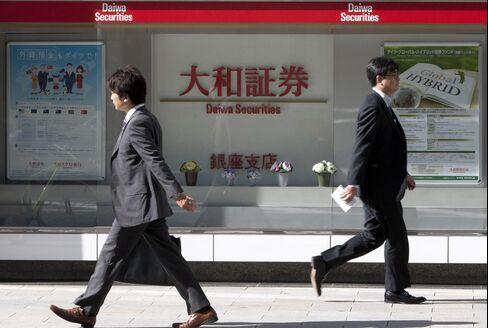 Daiwa Posts Third Straight Profit on Trading, Underwriting Fees