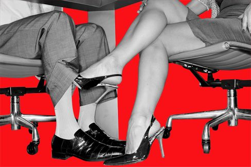 The Myth About Office Flirting