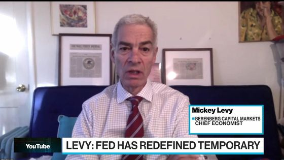 Berenberg's Levy Says Stop Worrying So Much About Fed Tapering