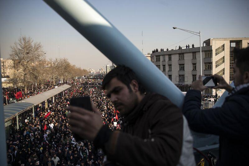 IRAN-TEHRAN-QASEM SOLEIMANI-FUNERAL CEREMONY