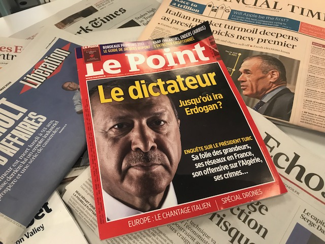 Macron defends Le Point's right to call Erdogan 'dictator'