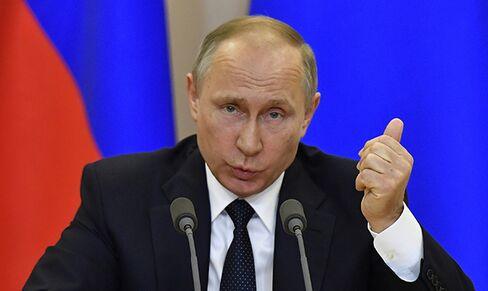 Vladimir Putin on May 17.