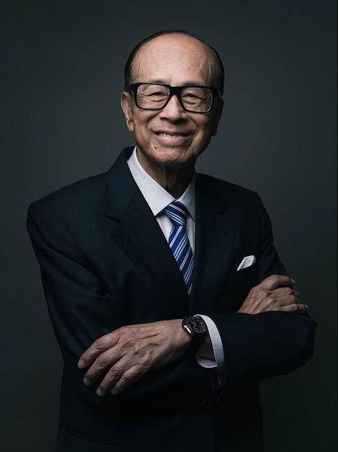 Billionaire Li Ka-shing.