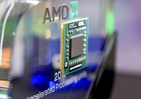 AMD Climbs as Mubadala Eases Cash Concerns