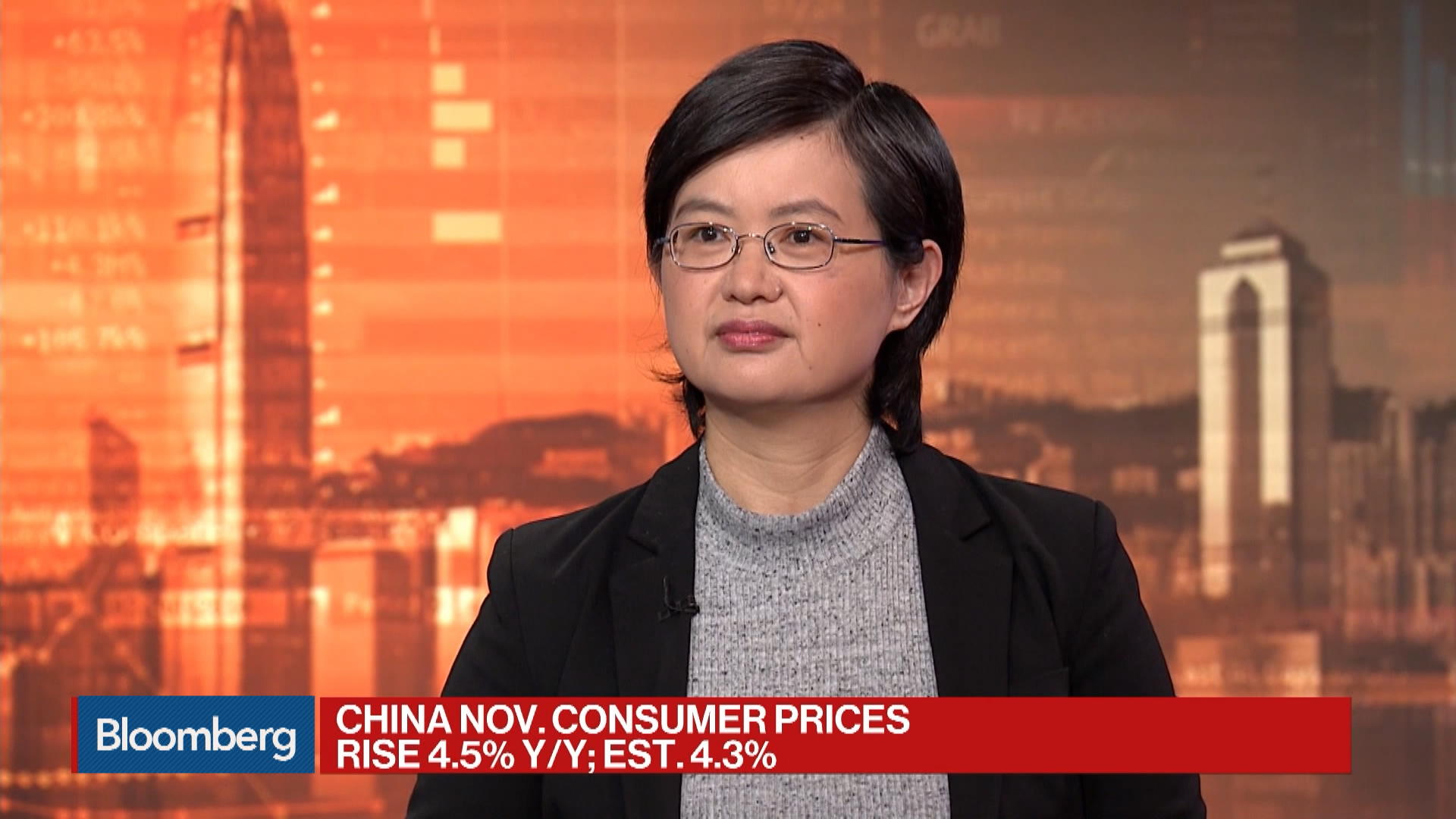China's November CPI Hits 7-Year High as Pork Prices Surge