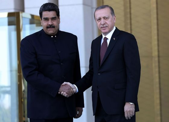 Mysterious Turkish Firm Helped Maduro Move $900 Million in Gold