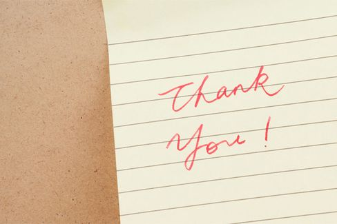 For MBA Job Seekers, the Importance of Being Thankful