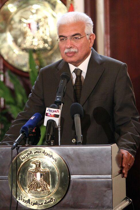 Egyptian Prime Minister Ahmed Nazif