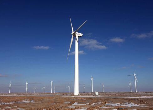 China Targets GE's Wind Turbines