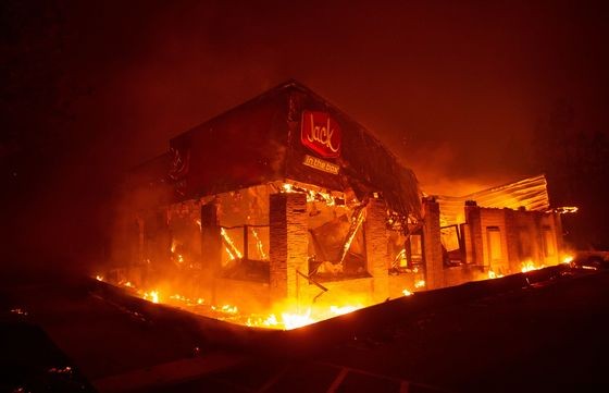 California Wildfires Force Thousands to Evacuate; Five Dead