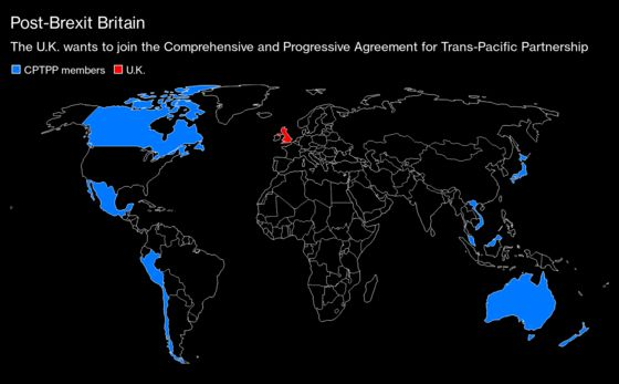 U.K. Begins Negotiations to Join Trans-Pacific Trading Bloc
