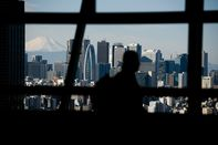 Tokyo Skyline As Japan's Inflation Slows Again