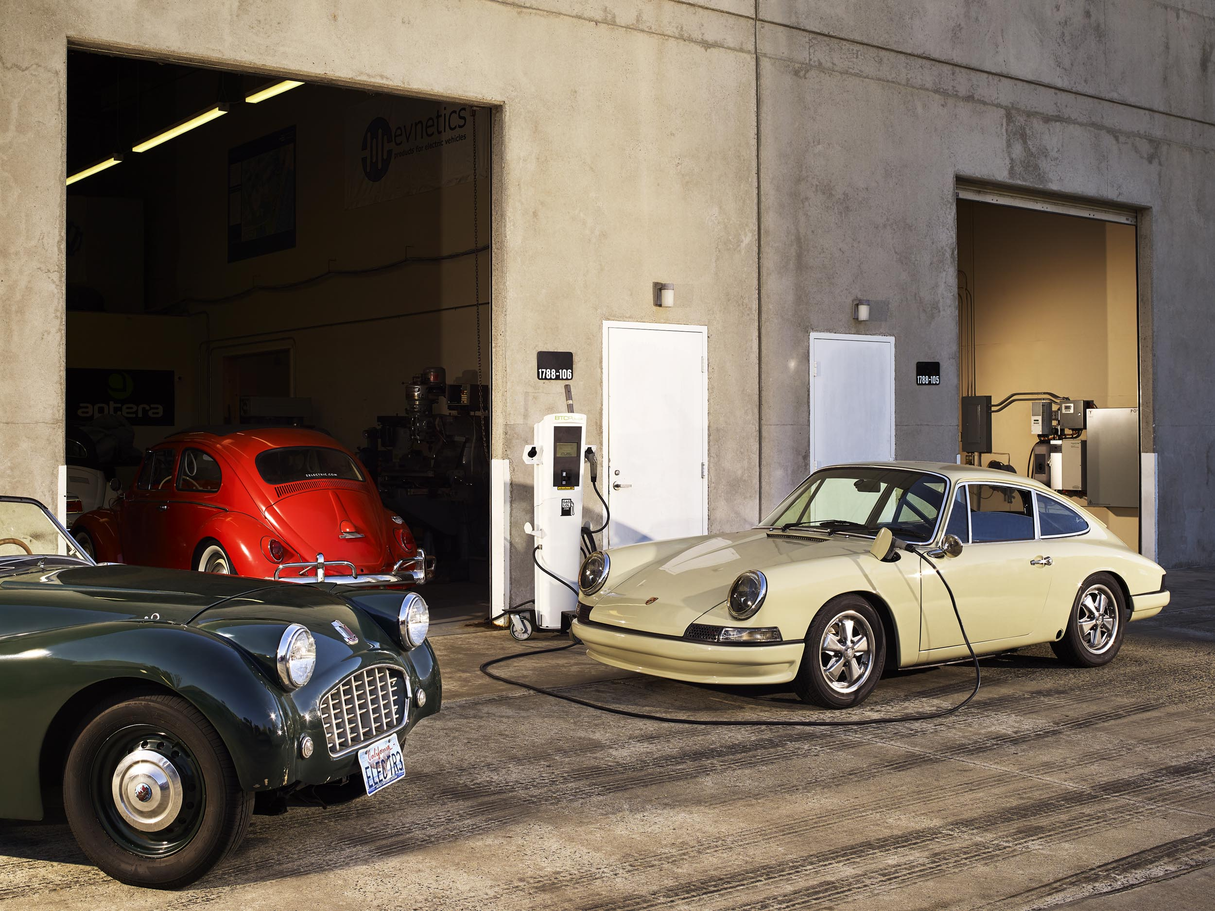 The New Hot Rods Are Souped-Up Vintage Cars With Electric Motors