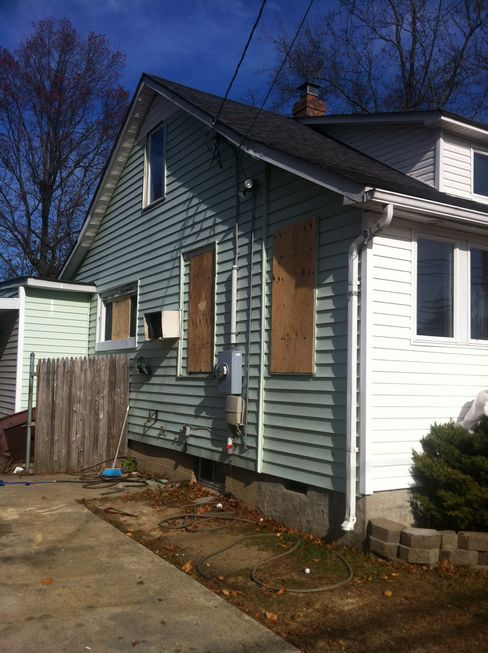 Foreclosed Long Island Home