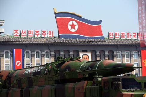 North Korea's Military Parade