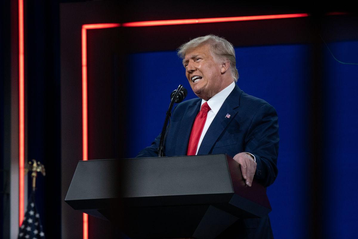 <p>Trump Touts Appeal to New Voters as Path for GOP Return to Power thumbnail