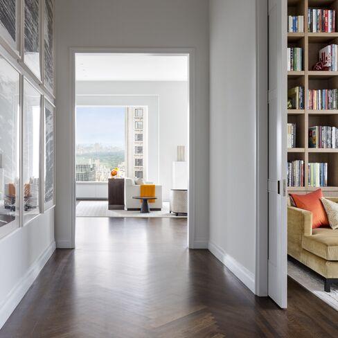 A model apartment at 432 Park.