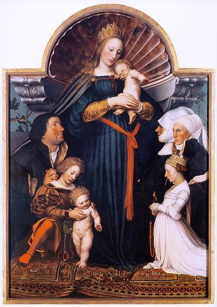 Holbein Madonna