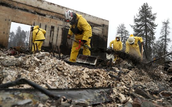 Number of Dead in California Camp Fire Up to 83