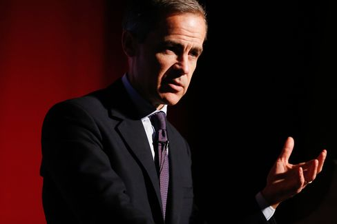 Bank Of England Governor Mark Carney Delivers The 50th Anniversary Peston Lecture At Queen Mary University