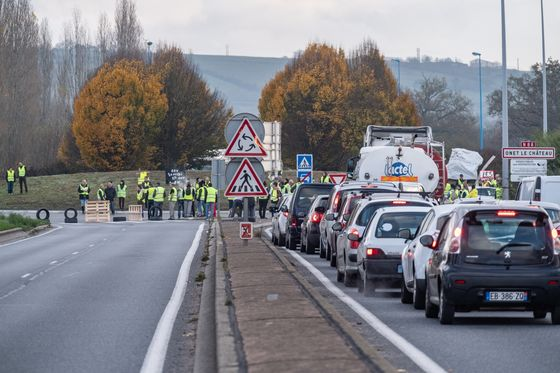 French Protests Sparked by Gas Tax Lead to 1 Death, 227 Injuries