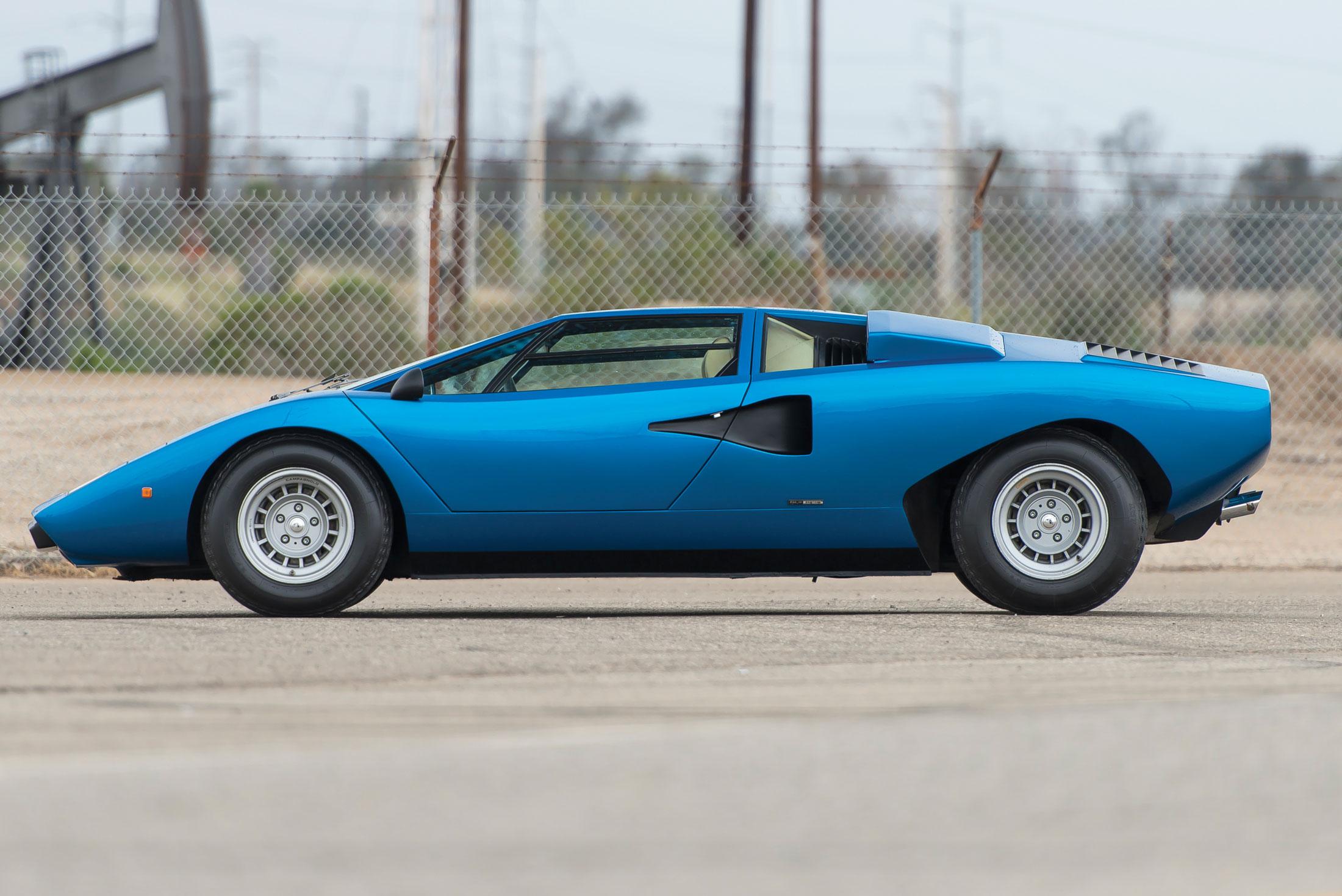 1976 Lamborghini Countach LP 400 'Periscopio' | RM Sotheby's | Estimate: $2 Million