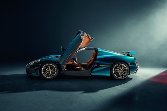 First Look at Rimac's$2.4 Million Electric Nevera Hypercar