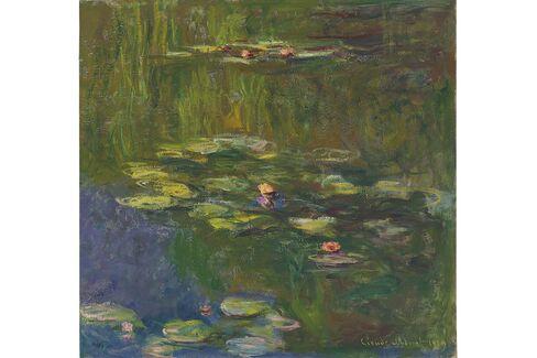 Claude Monet'sLe Bassin Aux Nymphéas, 1919