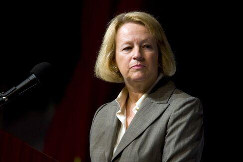 Mary Schapiro, chairman of the U.S. SEC