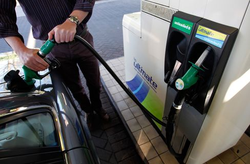 Record Gasoline Burdens Consumers as Europe Fights Slowdown